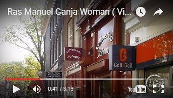Coffeeshop Johnny appearing in Ras Manuel's video Ganja Women