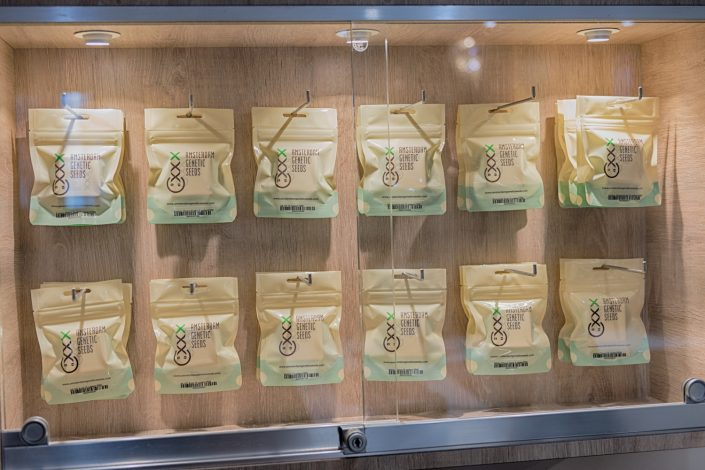Picture showing the Amsterdam Genetic Seeds available at Coffeeshop Johnny Amsterdam